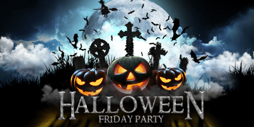 Halloween Friday Party at Stretch
